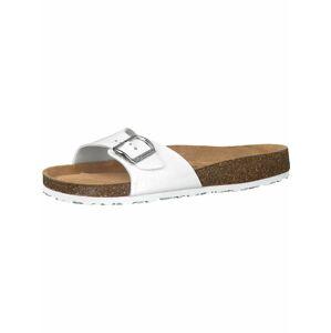 TAMARIS Pantofle  bílá