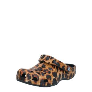 Crocs Pantofle  černá / hnědá