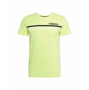 Superdry Tričko  žlutá