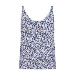 Iriedaily Top 'Bloomie'  modrá