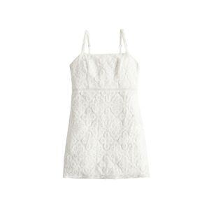 HOLLISTER Letní šaty 'SB19-DTC BARE'  bílá