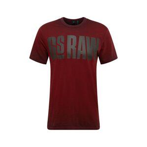 G-Star RAW Tričko  červená
