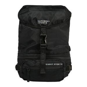 Superdry Sportovní batoh 'CONVERTIBLE'  černá