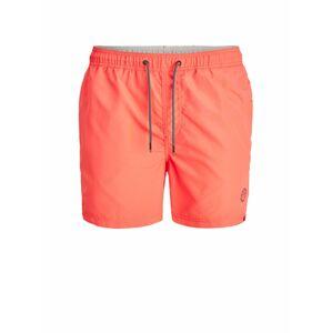 JACK & JONES Plavecké šortky 'Bali'  svítivě oranžová / lososová