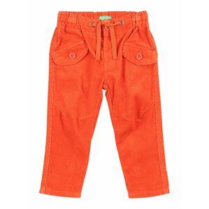 UNITED COLORS OF BENETTON Kalhoty  oranžově červená