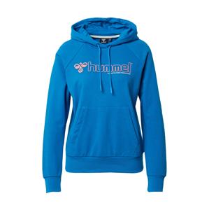 Hummel Sportovní mikina  modrá / bílá