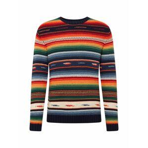 POLO RALPH LAUREN Svetr 'LS CN PO-LONG SLEEVE-SWEATER'  mix barev