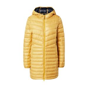 TOM TAILOR DENIM Přechodný kabát  žlutá