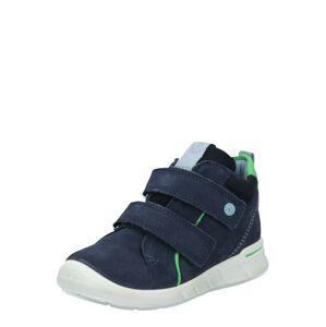 ECCO Tenisky 'First'  svítivě zelená / tmavě modrá