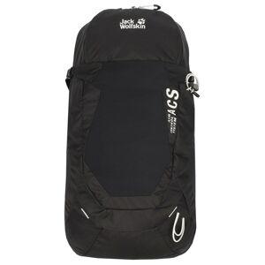 JACK WOLFSKIN Sportovní batoh  černá / bílá
