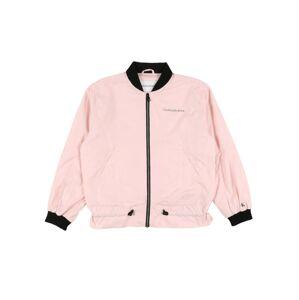 Calvin Klein Jeans Přechodná bunda  růžová