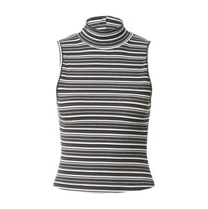 Motel Tričko 'SURI'  bílá / černá / šedá