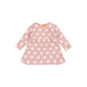 STACCATO Šaty  růžová / bílá