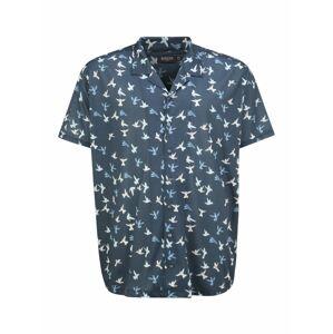 BURTON MENSWEAR LONDON (Big & Tall) Košile 'BIRD REV SHT'  námořnická modř