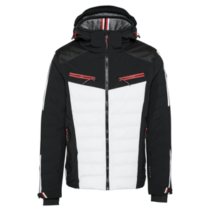 LUHTA Outdoorová bunda 'HASSALA'  bílá / černá / červená