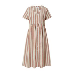 EDITED Letní šaty 'Elenie'  růžová / bílá