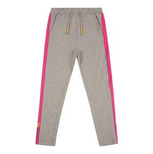 NAME IT Kalhoty  šedý melír / pink