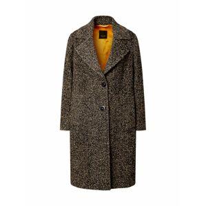 SAND COPENHAGEN Zimní kabát 'Clareta'  hnědá / oranžová / černá