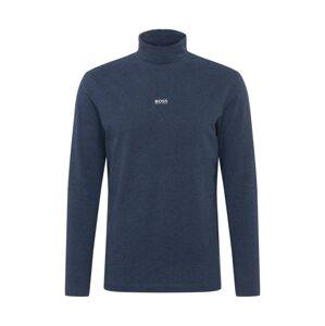 BOSS Tričko  tmavě modrá