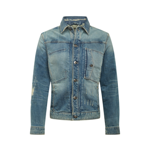G-Star RAW Přechodná bunda  modrá džínovina