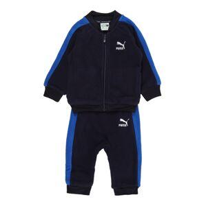 PUMA Joggingová souprava 'Minicats T7'  tmavě modrá / modrá