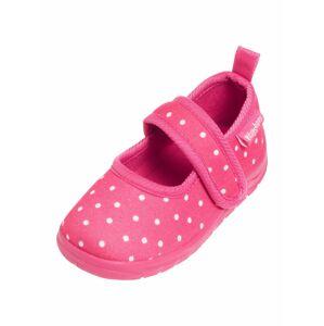 PLAYSHOES Pantofle  pink / bílá