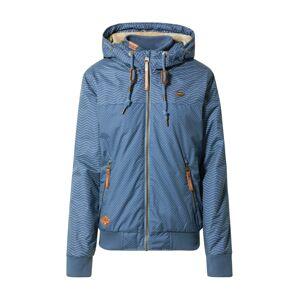 Ragwear Zimní bunda 'Nuggie'  modrá / bílá