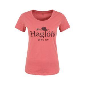 Haglöfs Funkční tričko 'Mirth Tee Women'  pink