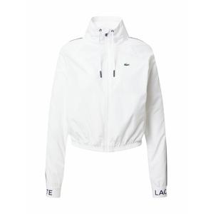 Lacoste Sport Sportovní bunda  bílá
