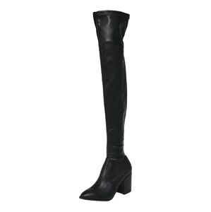 STEVE MADDEN Kozačky nad kolena 'Janey'  černá