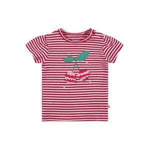 STACCATO Tričko  tmavě růžová / bílá / nefritová / růžová