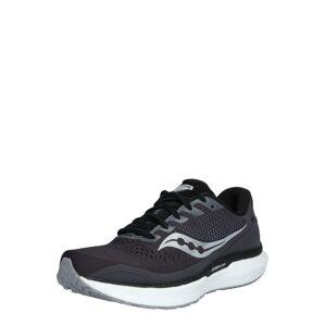 saucony Běžecká obuv 'Triumph 18'  stříbrná / černá / bílá