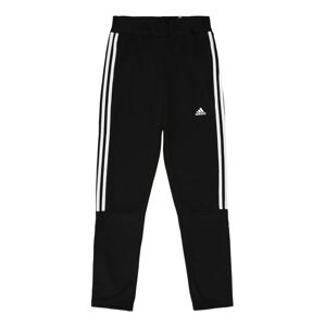 ADIDAS PERFORMANCE Sportovní kalhoty 'TIRO'  bílá / černá