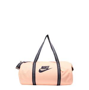 Nike Sportswear Cestovní taška 'Heritage'  meruňková / fialkově modrá