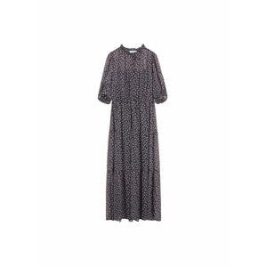 MANGO Plážové šaty 'Pia'  černá