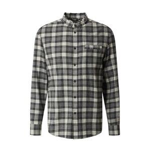 DRYKORN Košile 'Daryl'  šedá / černá