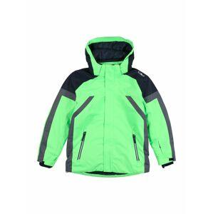 CMP Sportovní bunda  zelená / černá / šedá