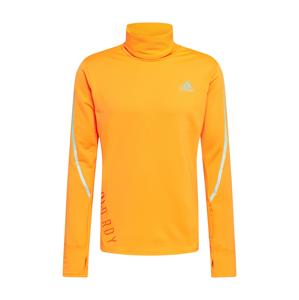 ADIDAS PERFORMANCE Funkční tričko  svítivě oranžová / šedá