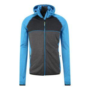KILLTEC Sportovní bunda 'Mikan'  šedá / modrá