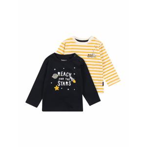 STACCATO Tričko  noční modrá / tělová / zlatě žlutá / bílá / světle šedá