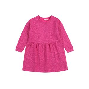 NAME IT Šaty 'VOLTA'  pink / černá