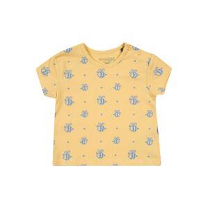 BELLYBUTTON Tričko  žlutá / modrá