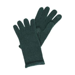 ESPRIT Prstové rukavice  tmavě zelená