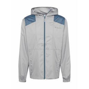 COLUMBIA Funkční bunda 'Flashback'  šedá / modrá