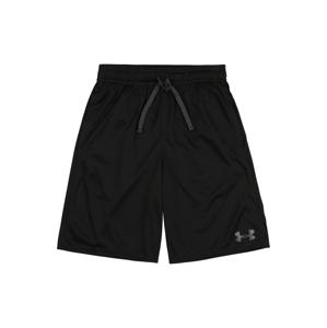 UNDER ARMOUR Sportovní kalhoty 'Prototype'  černá / bílá