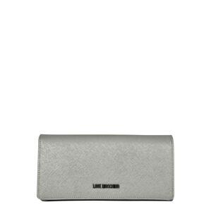 Love Moschino Peněženka  stříbrně šedá