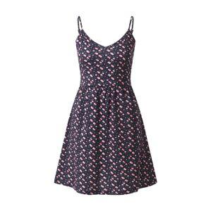 ABOUT YOU Letní šaty 'Danai'  námořnická modř / růžová