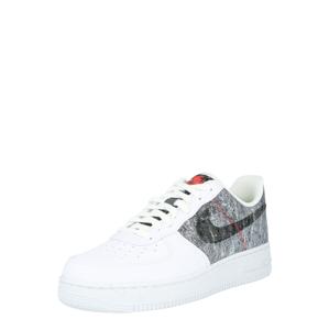 Nike Sportswear Tenisky 'Air Force 1'  bílá / světle šedá / černá