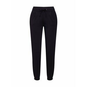 JACQUELINE de YONG Kalhoty se sklady v pase 'Pretty'  černá