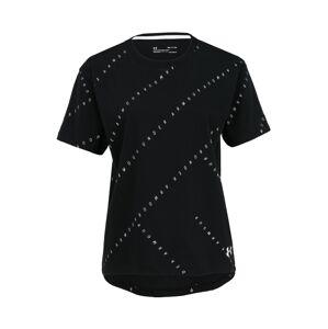 UNDER ARMOUR Funkční tričko  bílá / černá